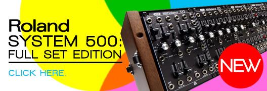 Roland System 500 Complete Set