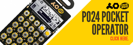 Teenage Engineering/Cheap Monday PO24 Pocket Operator