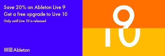 Abeton Live 9 Saving Promo