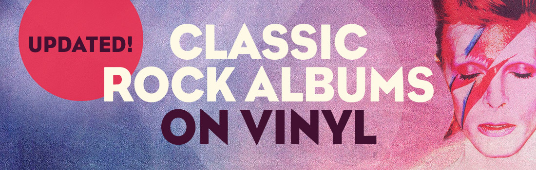 Classic rock albums on vinyl