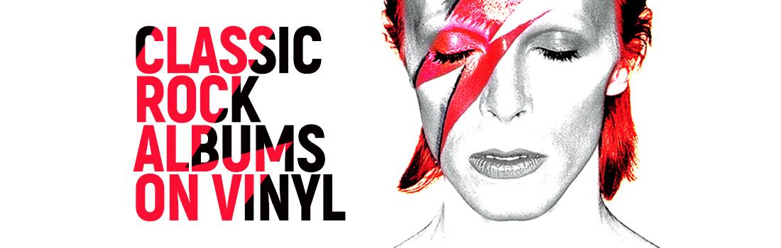 Classic rock albums on vinyl