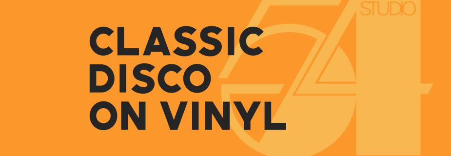 Classic Disco On Vinyl