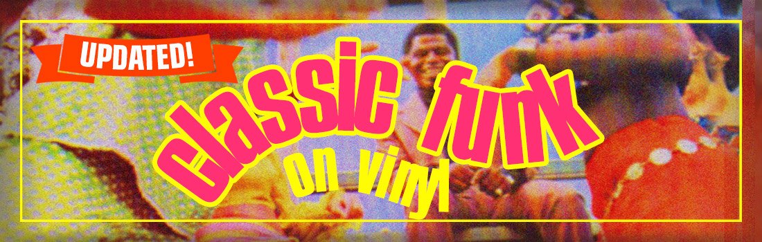 Classic funk on vinyl