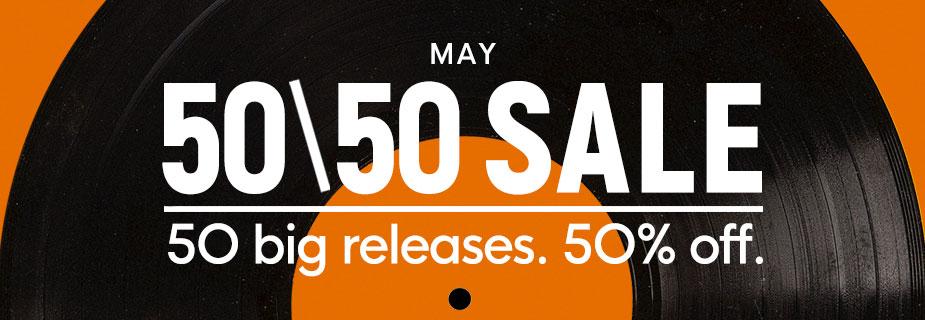 50 50 sale