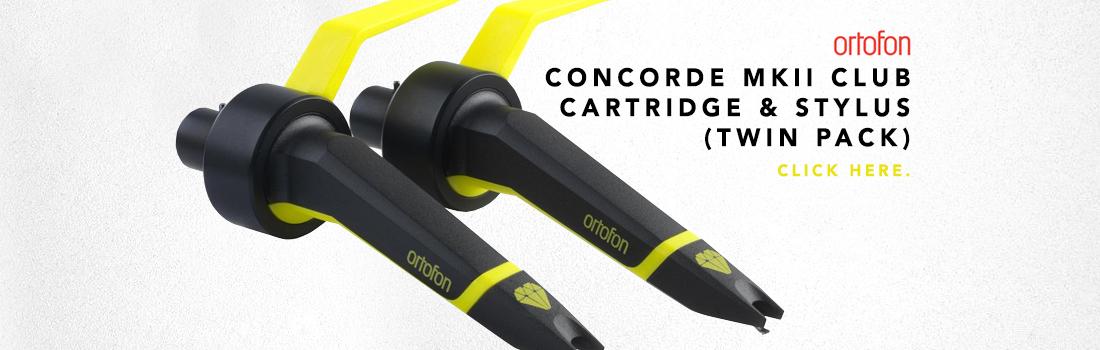 ortofon concorde mkii club cartridge & stylus
