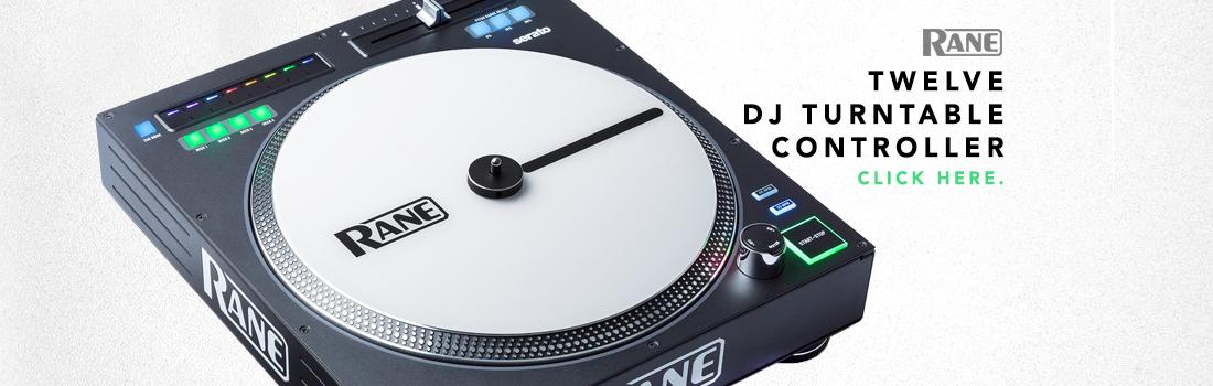 rane twelve dj turntable controller