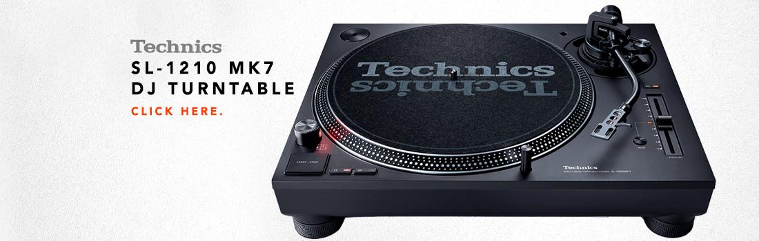 technics sl 1210 mk7 turntable