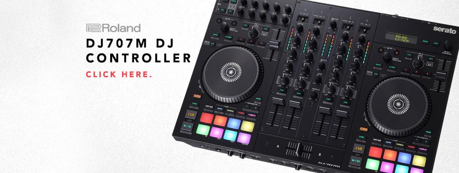 Roland DJ707M Mobile DJ Controller