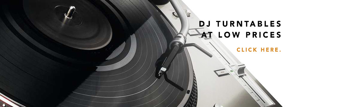dj turntables at low prices