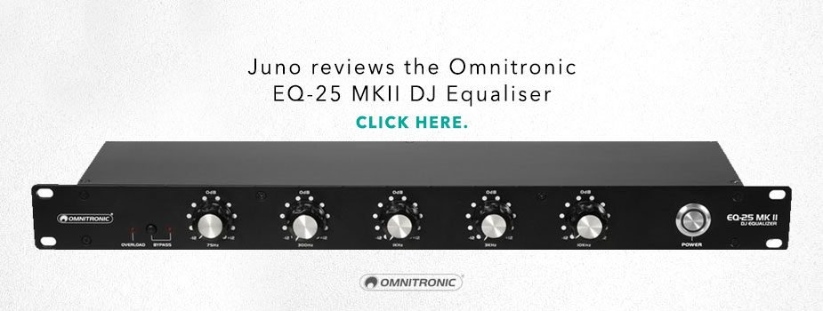 juno reviews the Omnitronic EQ-25 MK2 review