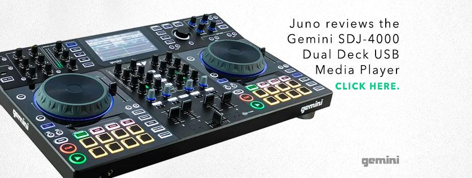 juno reviews the gemini sdx 4000