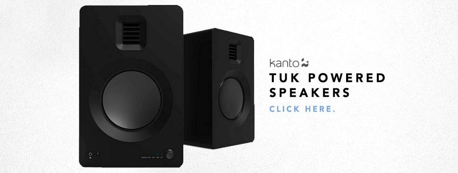 kanto powered speakers