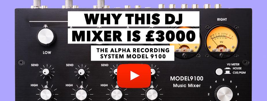 alpha recording system model 9100 youtube
