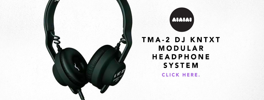 AIAIAI TMA-2 DJ KNTXT Limited Edition Modular Headphone System