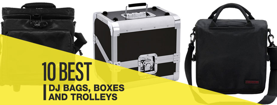 10 best dj bags, boxes and trolleys