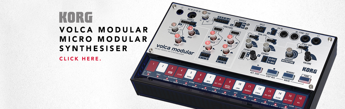 korg volca modular micro modular synthesiser
