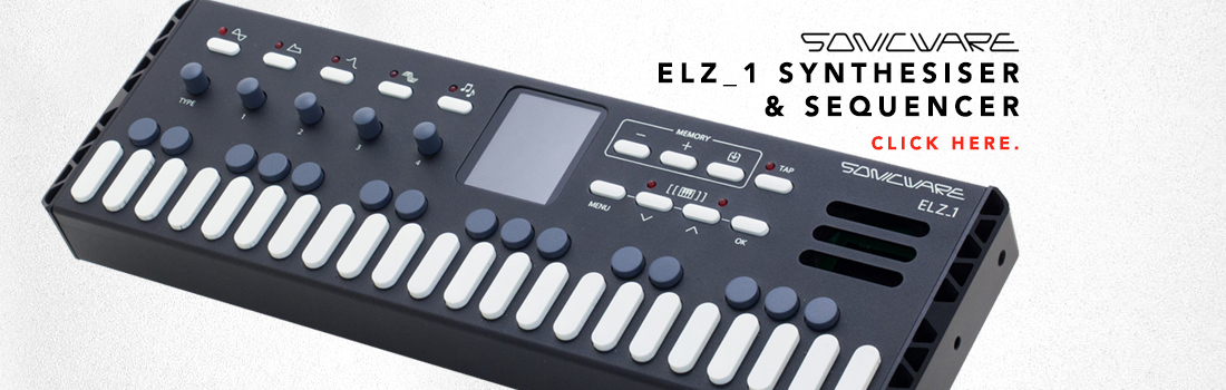 sonicware elz1 synthesiser & sequencer