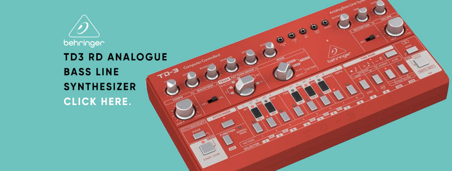 Behringer TD3 RD Analogue Bass Line Synthesizer