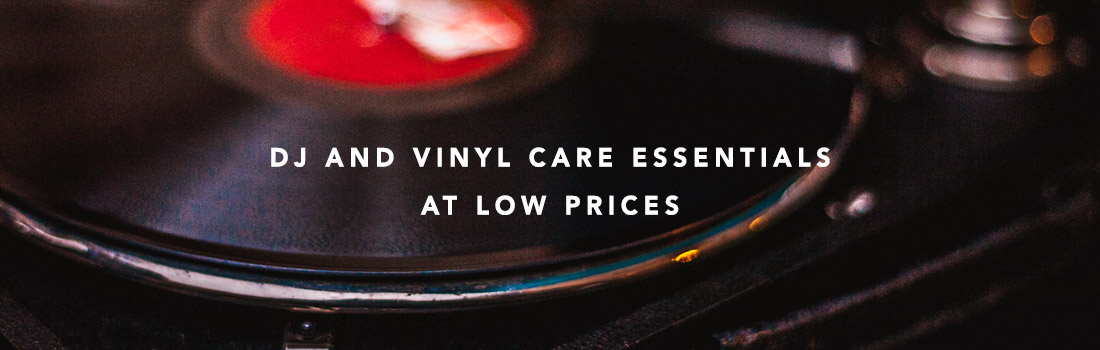 dj and vinyl care essentials at low prices