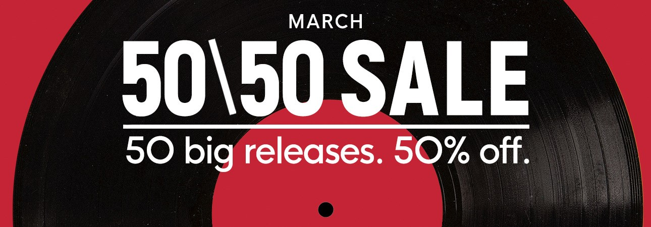 the 50 50 sale