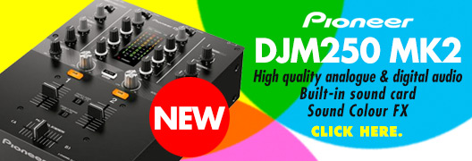 Pioneer DJM250 MK2 DJ Mixer