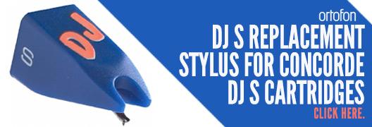 Ortofon DJ S Replacement Stylus For Concorde DJ S Cartridges