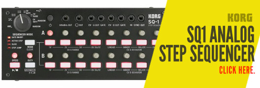 Korg SQ1 Analog Step Sequencer